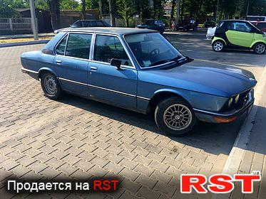 BMW 5-series 520i, обмен 1973