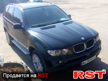 BMW X5 , обмен 2005