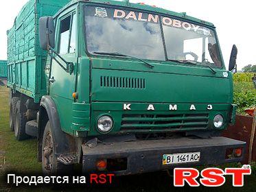 КАМАЗ 5320 , обмен 1985
