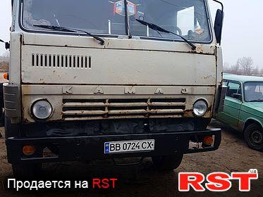 КАМАЗ 53228 , обмен 1991
