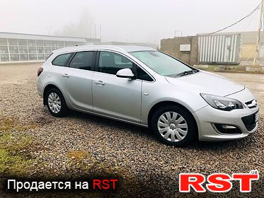 OPEL Astra J Cosmo, обмен 2012