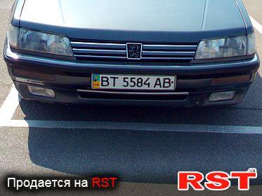PEUGEOT 605 , обмен 1994