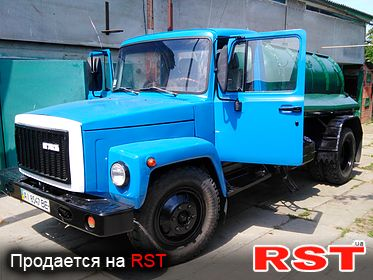 СПЕЦТЕХНИКА Ассенизатор ГАЗ 3307 1990