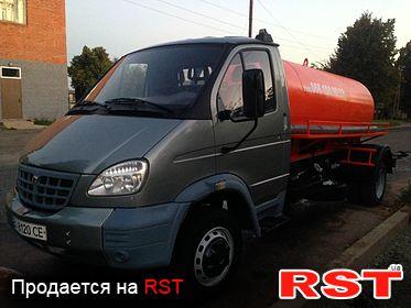 СПЕЦТЕХНИКА Ассенизатор ГАЗ АНМ-3307, обмен 2008