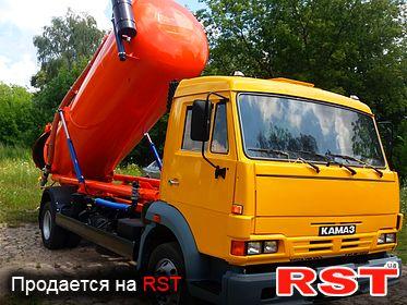 СПЕЦТЕХНИКА Ассенизатор КАМАЗ 4308 2006