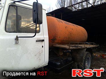 СПЕЦТЕХНИКА Ассенизатор Газ 3309, обмен 2005