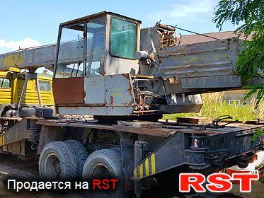 СПЕЦТЕХНИКА Автокран КамАЗ 53212 1992