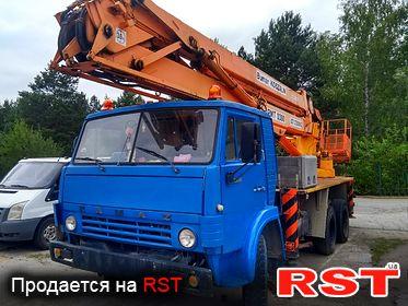 СПЕЦТЕХНИКА Автовышка КАМАЗ 53214 1995