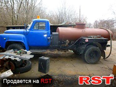 СПЕЦТЕХНИКА Бензовоз газ 52, обмен 1987