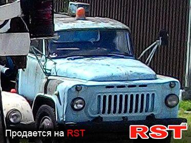 СПЕЦТЕХНИКА Бензовоз ГАЗ 53 1986