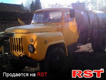 СПЕЦТЕХНИКА Бензовоз ГАЗ 52 1985