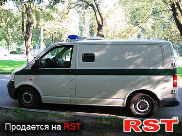 СПЕЦТЕХНИКА Инкассаторские авто VOLKSWAGEN Transporter T5 2012