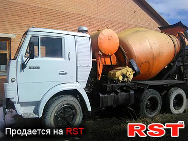 СПЕЦТЕХНИКА Бетоносмеситель КАМАЗ 5410 1991