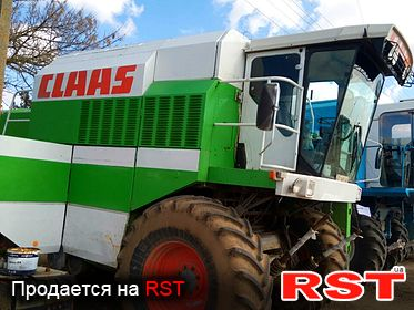 СПЕЦТЕХНИКА Комбайн CLAAS-118 Maxi 1991