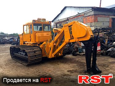 СПЕЦТЕХНИКА Кабелеукладчик ЧТЗ Т-130 КВГ 1993