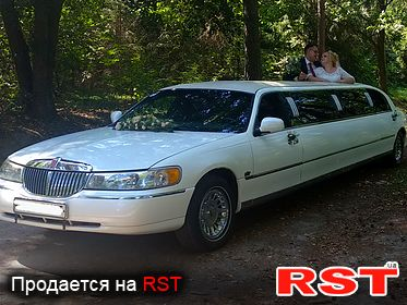 СПЕЦТЕХНИКА Лимузин LINCOLN TOWN CAR 1999