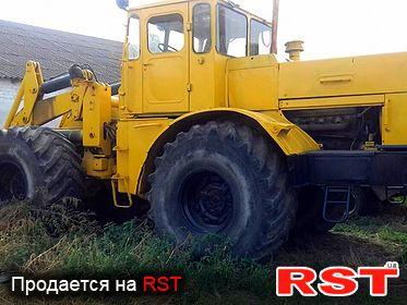 СПЕЦТЕХНИКА Погрузчик К 702 Кировец 1982