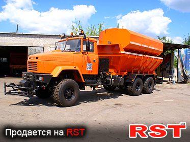СПЕЦТЕХНИКА Пескоразбрасыватель КРАЗ 65055 2008
