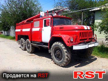СПЕЦТЕХНИКА Пожарная Зил 131  1989