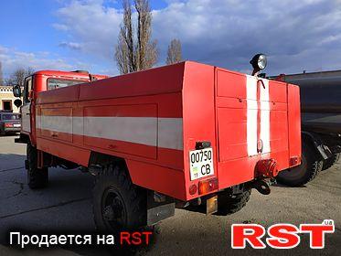 СПЕЦТЕХНИКА Пожарная Газ 66 1995