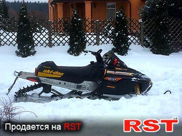 СПЕЦТЕХНИКА Снегоход Bombarder Ski-Do 2002