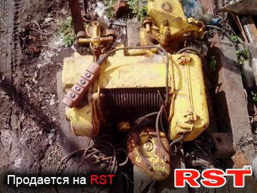 СПЕЦТЕХНИКА Тельфер 100-51132.01, обмен 1992