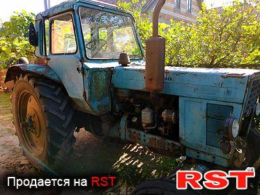 СПЕЦТЕХНИКА Трактор Мтз 80 1985