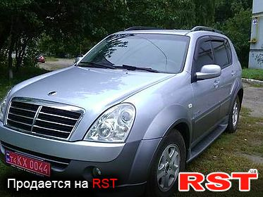 SSANGYONG Rexton XDi Deluxe, обмен 2008
